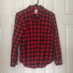 Buffalo Check button down from Jcrew